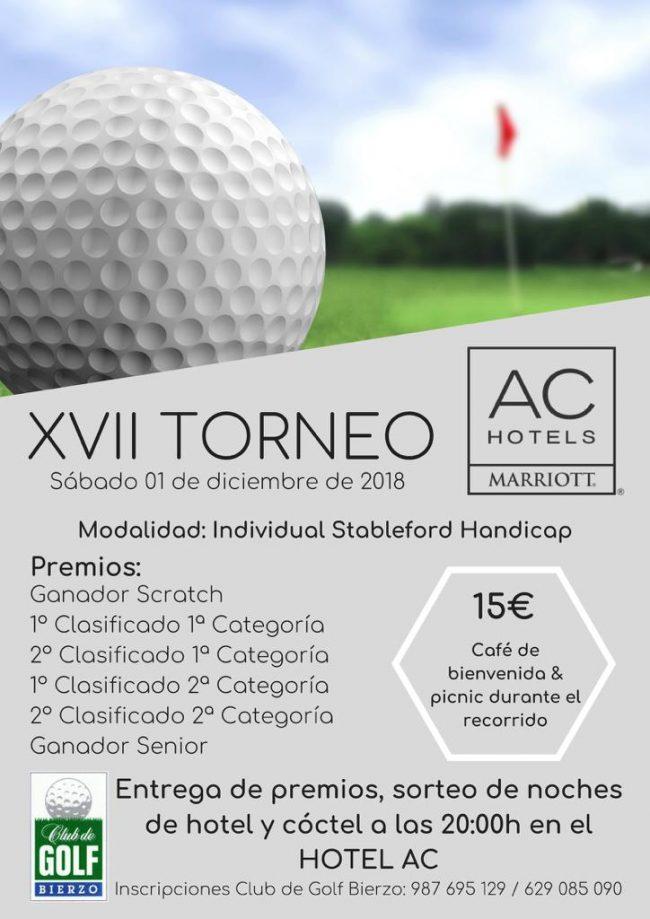 XVII Torneo de Golf Hotel AC Marriots 1