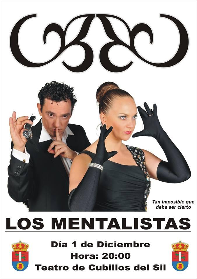 El Teatro Municipal de Cubillos del Sil presenta este sábado el espectáculo: 'Los Mentalistas' 1