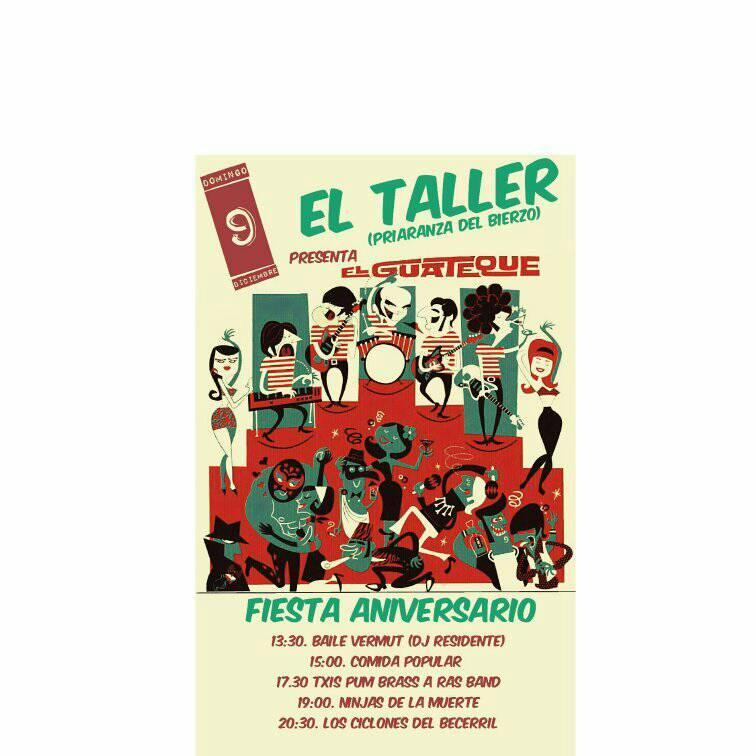 """Fiesta Aniversario """"El Taller"""" 1"""