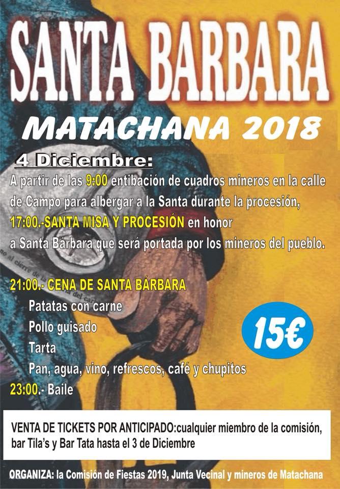Santa Bárbara en Matachana 2018 1
