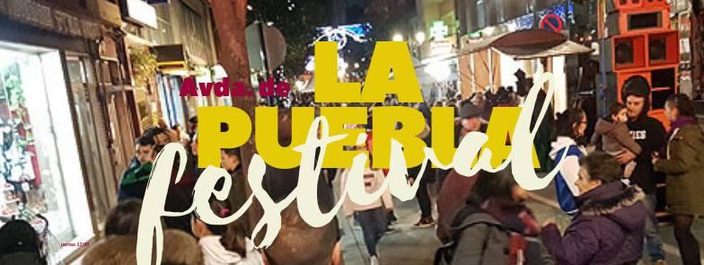 Los comerciantes de la Avenida de La Puebla toman la calle 1