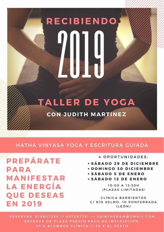 Recibe el 2019 con un taller de Yoga 1