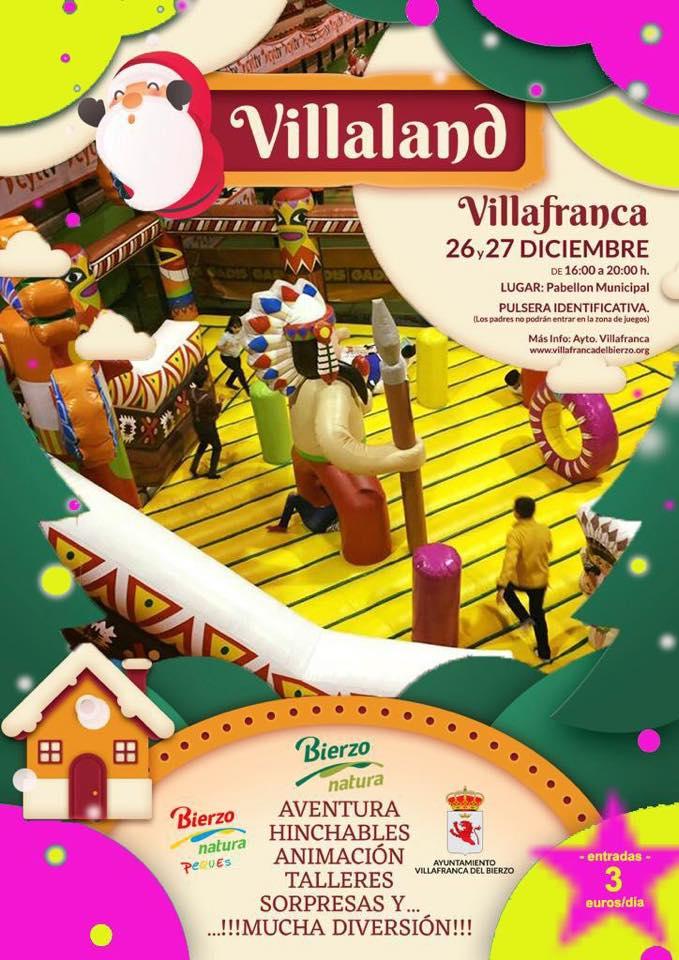Villaland, el ocio para los peques en Villafranca del Bierzo 1