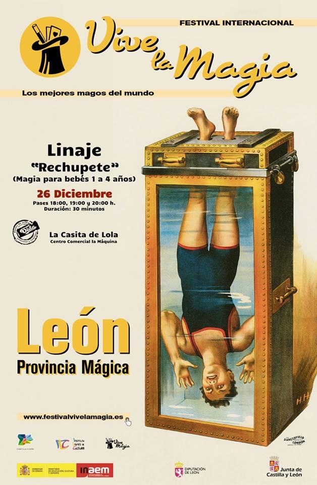 El Festival de Magia de León ofrece en Ponferrada la actuación de 'De rechupete 2' 1