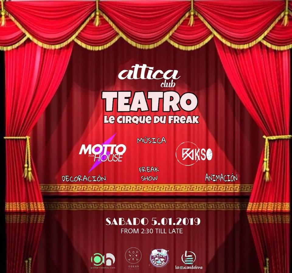 La noche de Reyes regresa el evento 'Teatro Le Cirque du Freak' 1