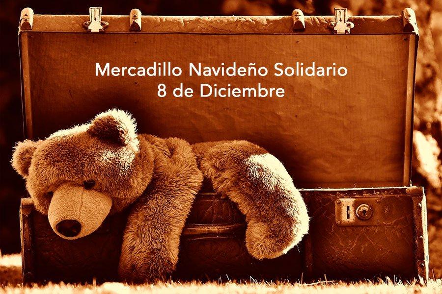 Mercadillo solidario en Cabañas Raras 1