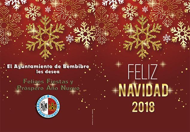Navidad 2018 en Bembibre. Programa de fiestas 1