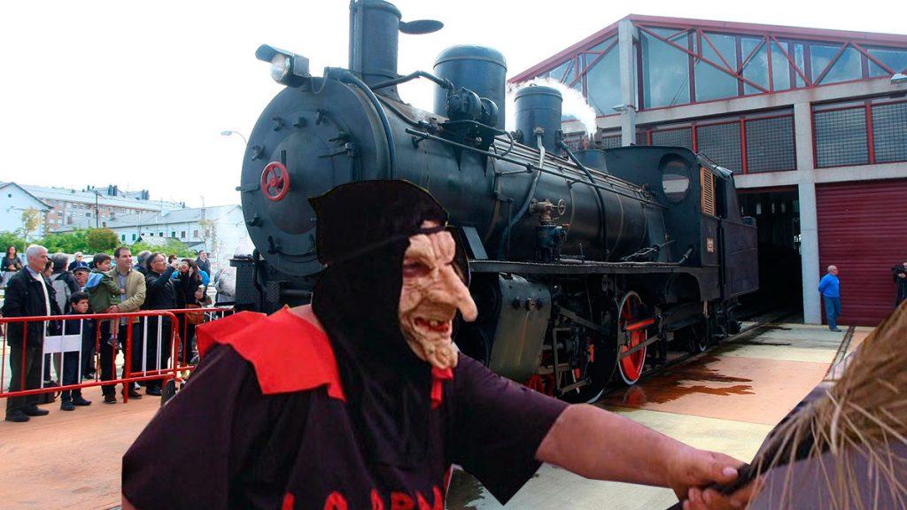 'The Witchtrain' La Junta de Castilla y León presenta su proyecto para el tren Ponfeblino 1
