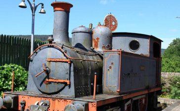 La locomotora 'Sestao' se incorpora a la colección del Museo del Ferrocarril de Ponferrada 10