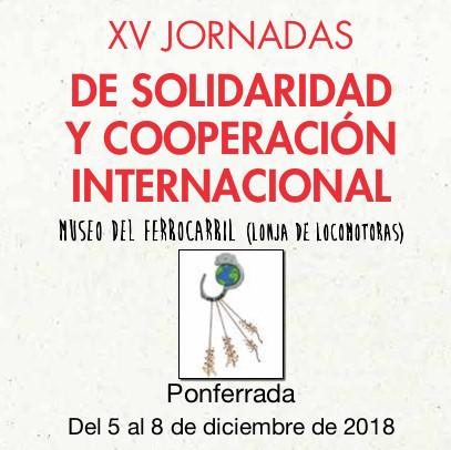 XV Jornadas de Solidaridad y Cooperación Internacional 2018 1