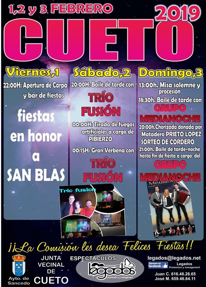Fiestas de San Blas 2019 en Cueto 1