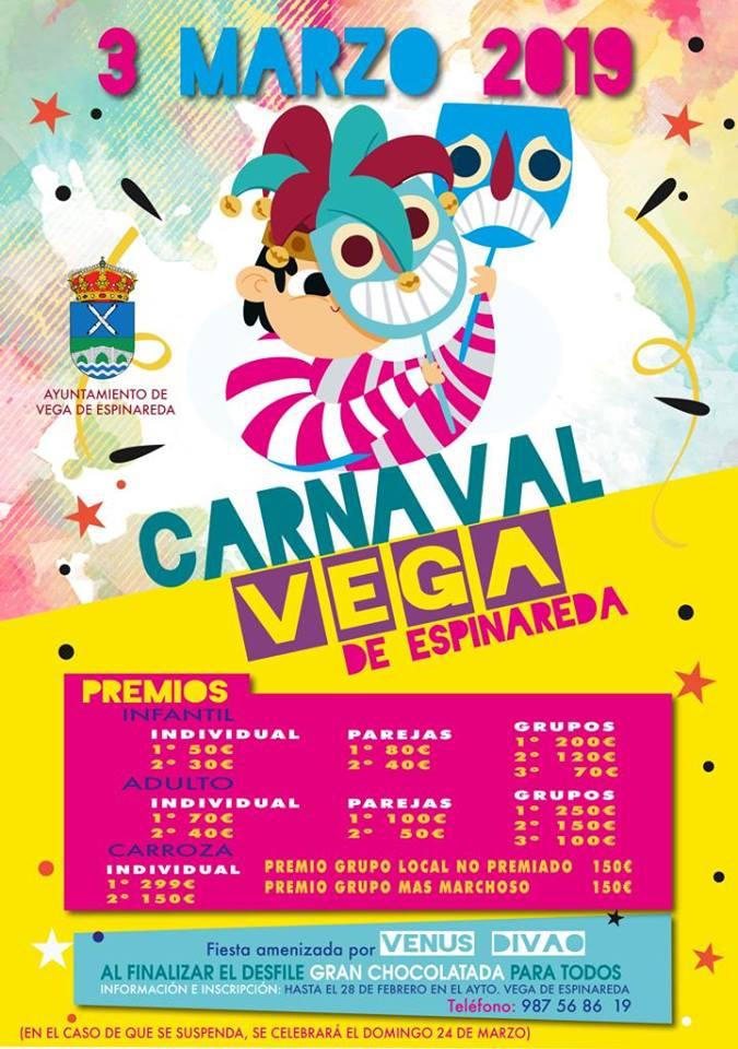Carnaval 2019 en Vega de Espinareda 1