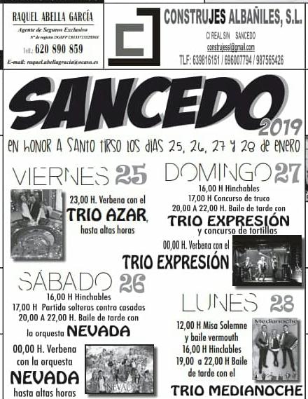 Fiestas de Santo Tirso 2019 en Sancedo 1