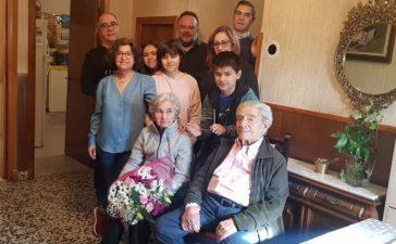 Cabañas Raras rinde homenaje a un vecino centenario 4