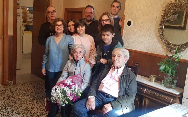 Cabañas Raras rinde homenaje a un vecino centenario 1