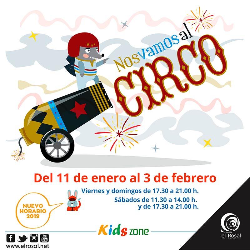La Kids Zone de El Rosal hará disfrutar a los peques de la 'Magia del Circo' 1