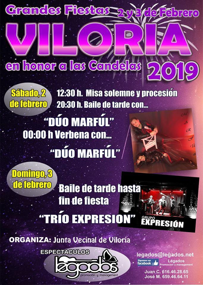 Fiesta de Las Candelas 2019 en Viloria 1