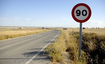 El 29 de enero se pone en marcha la reducción de velocidad en carreteras convencionales 7