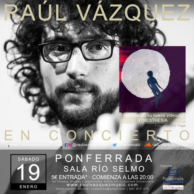 Raúl Vázquez presenta 'Synesthesia' en la Sala Río Selmo 1