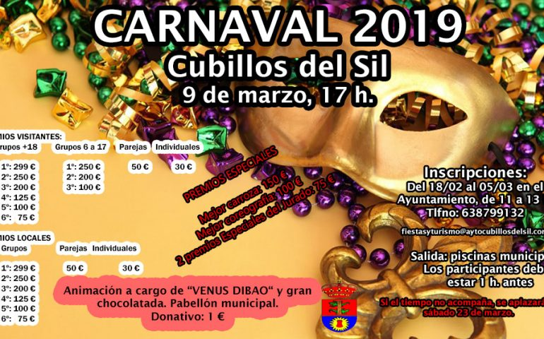 Carnaval 2019 en Cubillos del Sil 1
