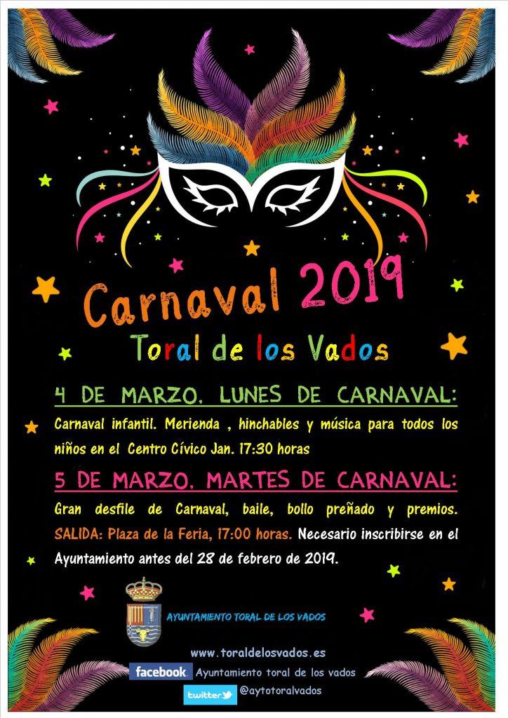 Carnaval 2019 en Toral de los Vados 1