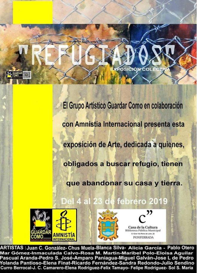 Llega 'Refugiados' - Exposición colectiva a la Casa de la Cultura de Ponferrada 1