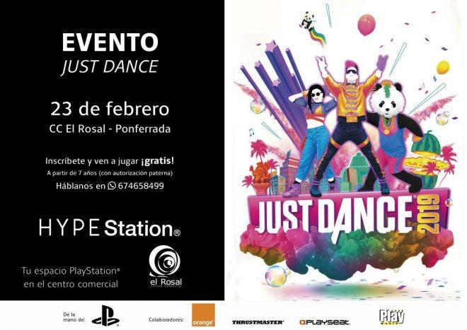 Si lo tuyo es jugar bailando llega el evento Just Dance 2019 al HYPE Station El Rosal 1