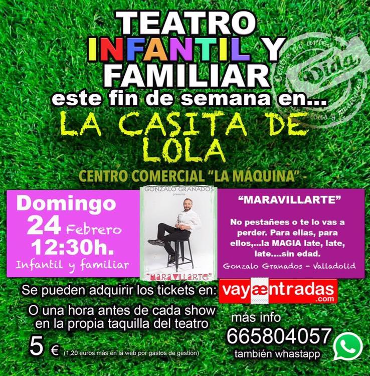 Teatro: Maravillarte 1