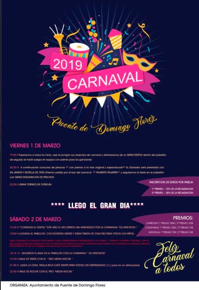 Carnaval 2019 en Puente de Domingo Flórez 1