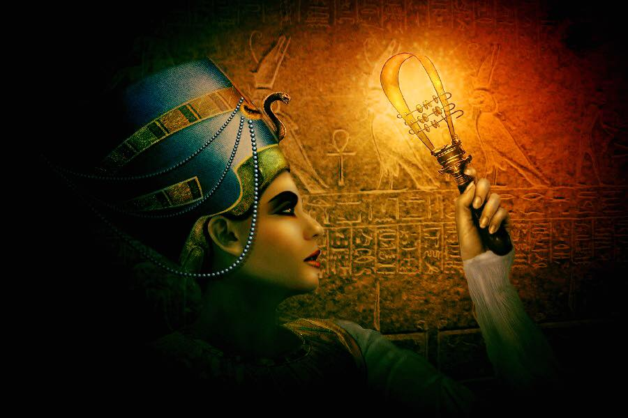 Nueva fiesta temática en el Marca de Cacabelos, Misterio en el valle de los Reyes: Nefertiti 1