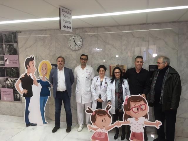 La exposición 'La Cigüeña Añil' llega al Hospital de la Reina para concienciar sobre las enfermedades raras 1