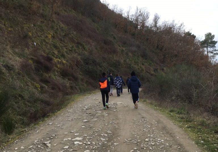 Ruta familiar por Ponferrada. Pajariel - Toral de Merayo 1