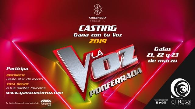 Última semana para inscribirse en el Casting Gana con tu Voz de El Rosal 1