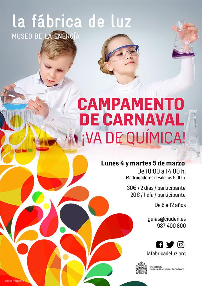 Un campamento de Carnaval con mucha química en el Museo de la Energía 1