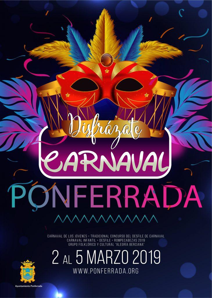 IMPORTANTE: Se adelanta la hora del Carnaval en Ponferrada 1