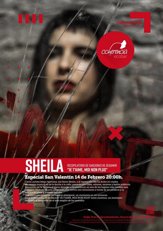 Sheila desgrana su recopilatorio de canciones de desamor 'Je t'aime, moi non plus' en Coherencia Bar 1