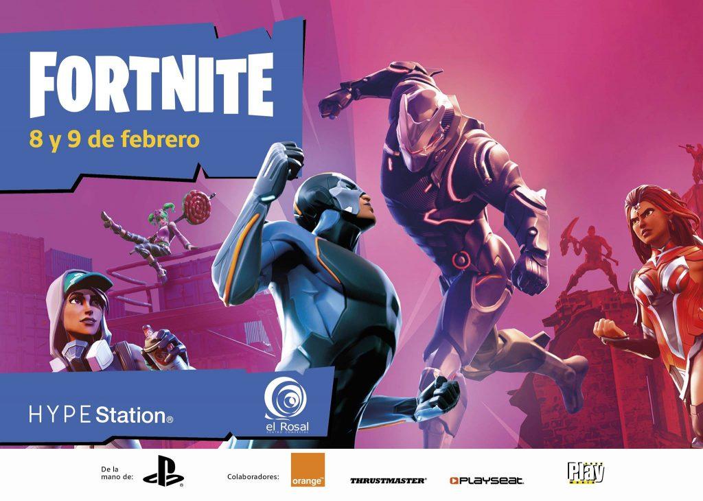 Nuevo Torneo de Fortnite en la Hype Station de El Rosal para el Fin de semana 1