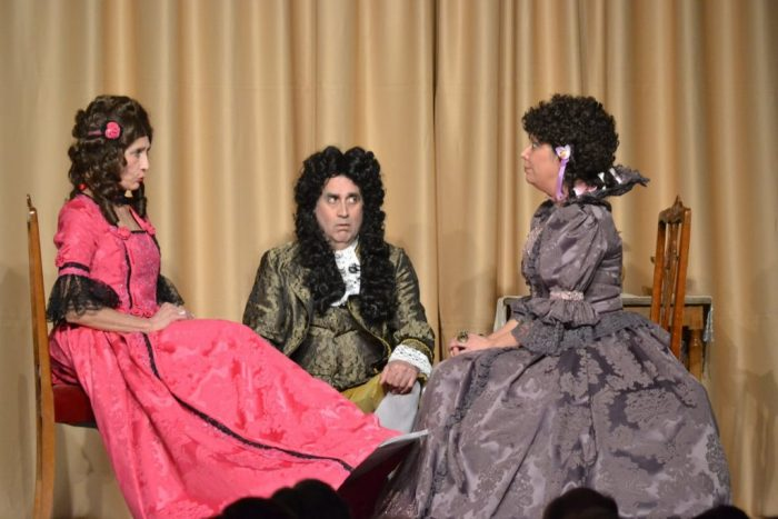 'El juego de Versalles' de Gargallada Teatro 1