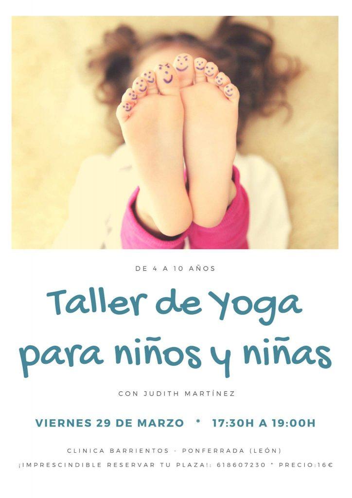 Taller de Yoga para niños en Clínica Barrientos 1