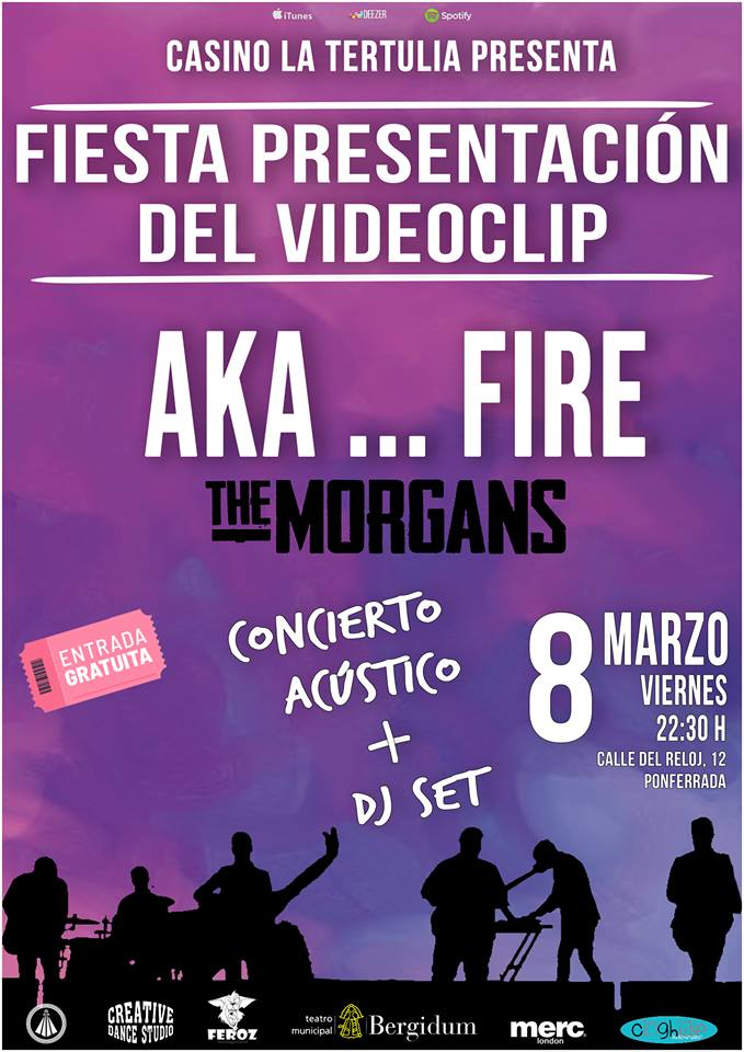 Fiesta presentación del nuevo clip de The Morgans 1