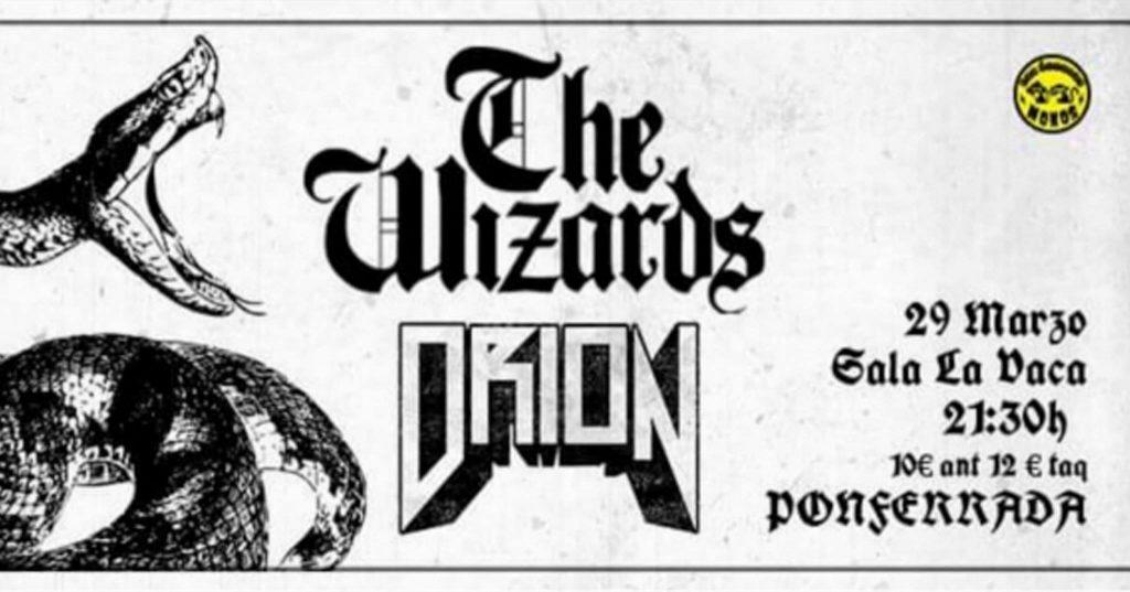 Concierto: Los Últimos Monos / The Wizards + Orion 1