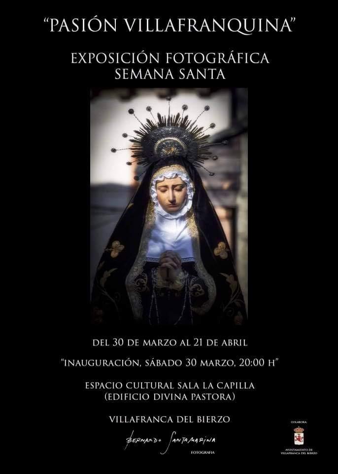 """Exposición fotográfica Semana Santa """"PASIÓN VILLAFRANQUINA"""" 1"""