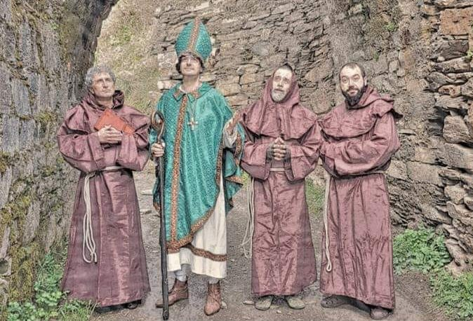 Visitas teatralizadas al Monasterio de Montes por La Tebaida Berciana 1