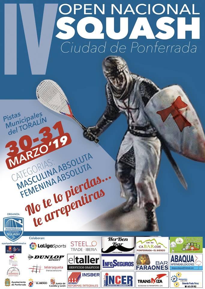 IV Open Nacional de Squash Ciudad de Ponferrada 2019 1
