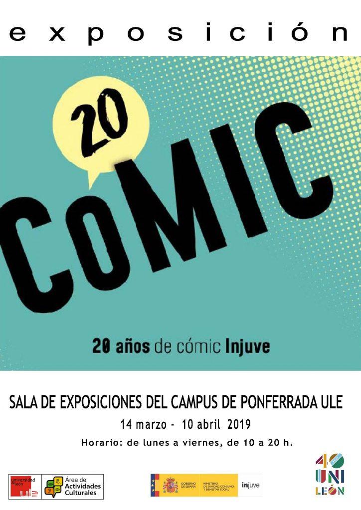 Exposición: '20 años de Cómic INJUVE' 1