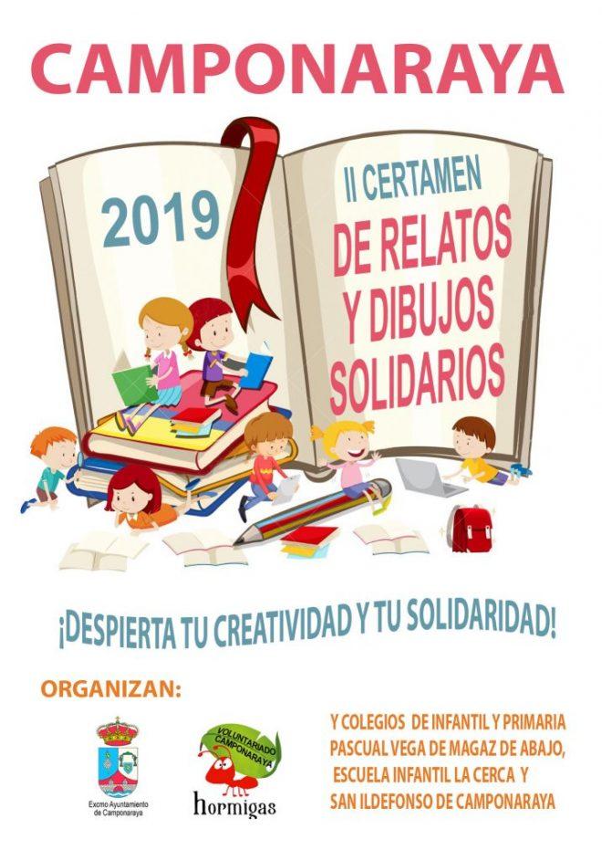 El Ayuntamiento de Camponaraya convoca el II Certamen de dibujo y microrrelatos solidarios 1