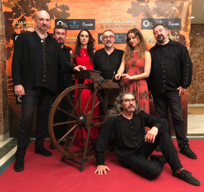 "Luar na Lubre presenta en el Bergidum ""Ribeira sacra"" 1"