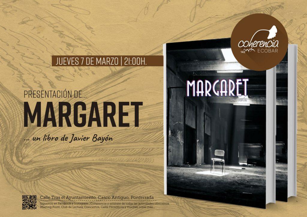 Presentación del libro Margaret de Javier Bayón 1