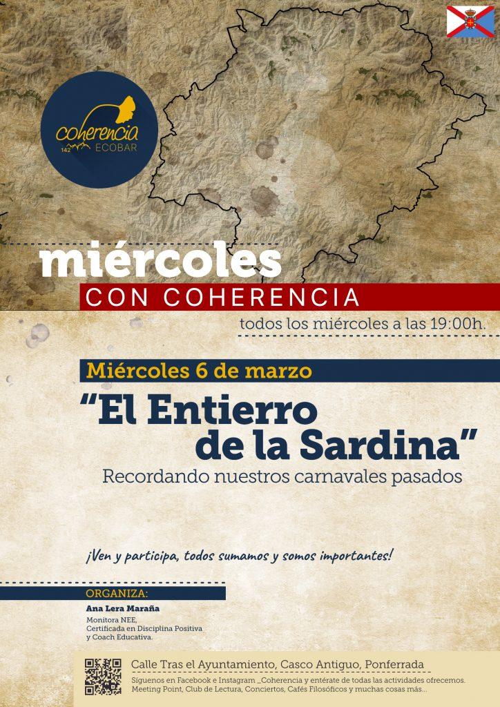 El entierro de la Sardina, un recuerdo a los Carnavales del pasado en los 'Miércoles con Coherencia' del Coherencia Bar 1
