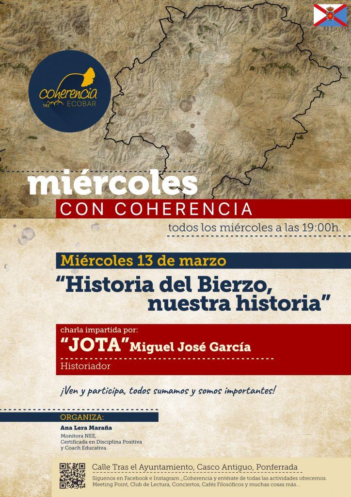 Los 'Miércoles con Coherencia' cuentan con Jota para hablar de la historia del Bierzo 1
